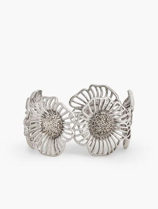 Filigree Flower Cuff