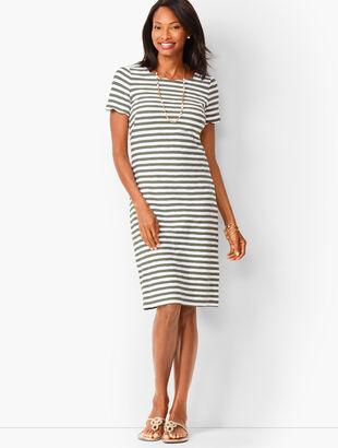 4c4370619f Scallop Knit Jersey Dress