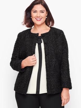 Embellished Tweed Jacket
