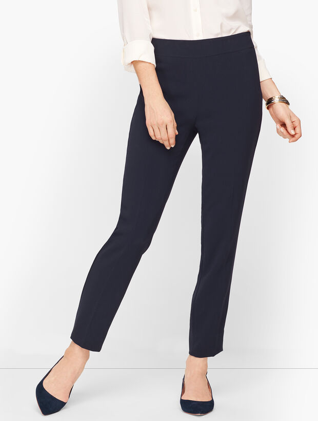 Easy Travel Ankle Leg Pants