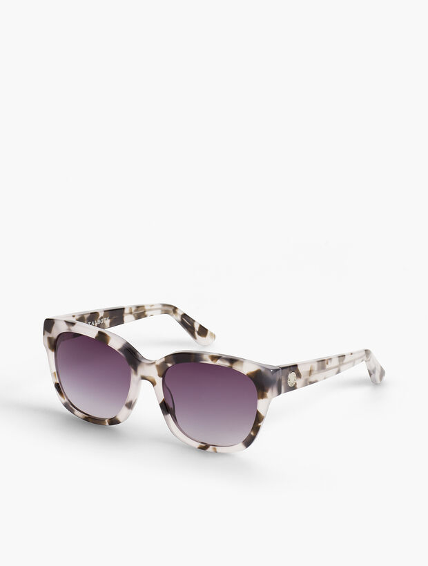Carlyle Grey-Marbled Sunglasses