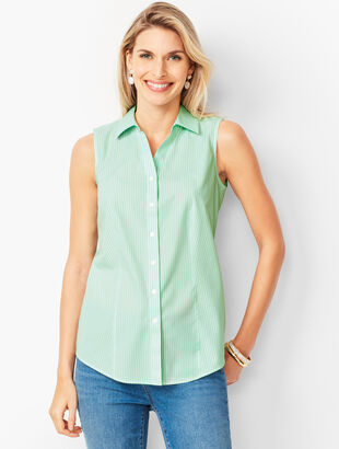 Perfect Shirt - Sleeveless - Pencil Stripe