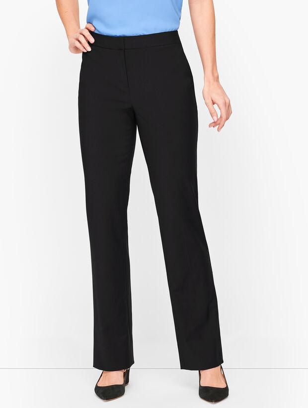 Seasonless Wool Barely Boot Pants - Curvy Fit