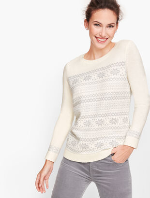 Sparkle Fair Isle Sweater