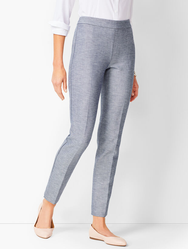 Talbots Chatham Ankle Pants - Sharkskin