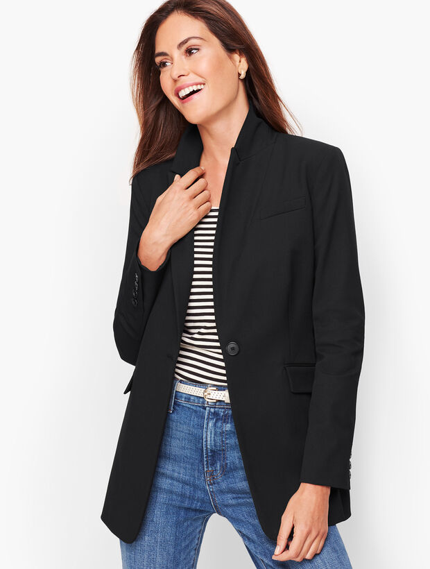 Long Blazer - Solid