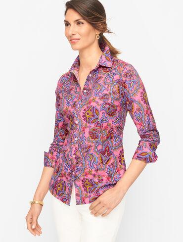 Perfect Shirt - Paisley Floral