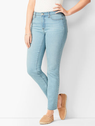 Slim Ankle Jeans - Solar Wash - Curvy Fit
