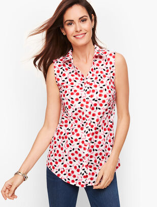 Perfect Shirt - Sleeveless - Tulip