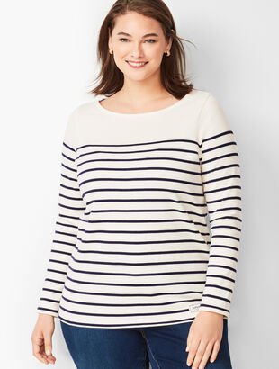 Authentic Talbots Tee- Stripe