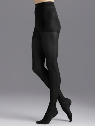 Plus Size Exclusive Control Top Hosiery