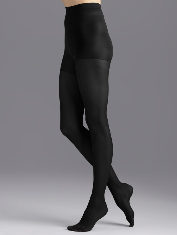 Plus Size Control Top Hosiery