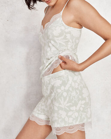 Cool Stretch Floral Lace Short