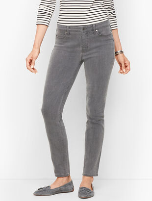 Slim Ankle Jeans - Cadet Grey