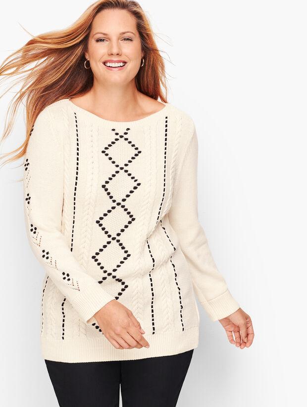 Velvet Ribbon Sweater