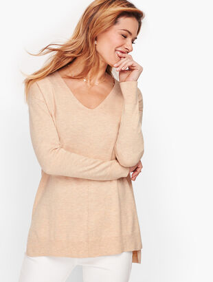 Spa Blend V-Neck Sweater
