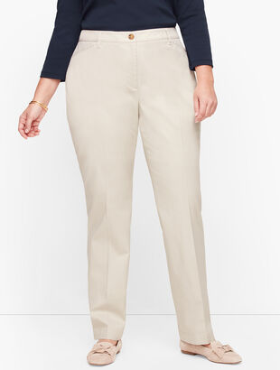 Stretch Cotton Chinos - Curvy Fit