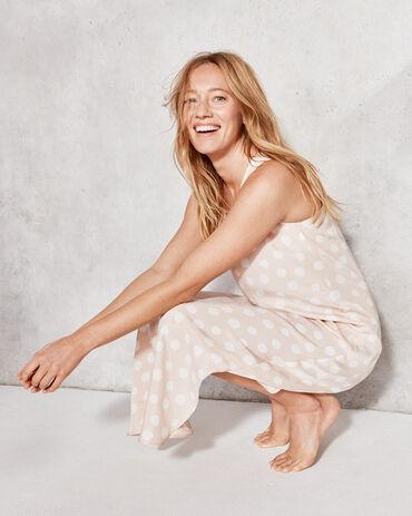 Natural Luxe Dot Sleep Dress