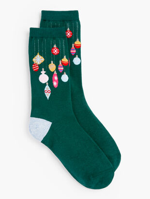 Deck The Halls Trouser Socks
