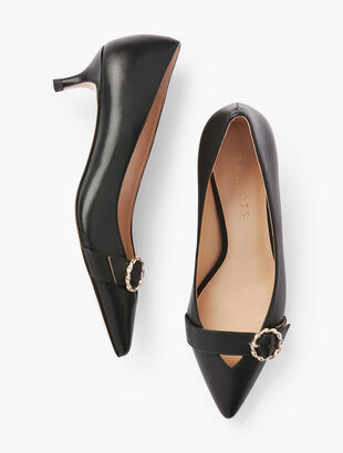 Sylvie Buckle Pumps