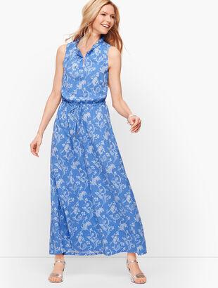 Floral Paisley Maxi Dress
