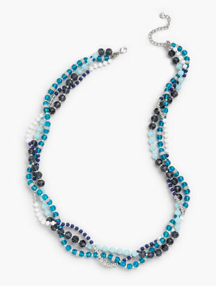 Blue Hues Layering Necklace