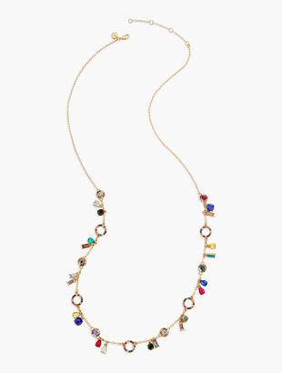 Rainbow Long Necklace