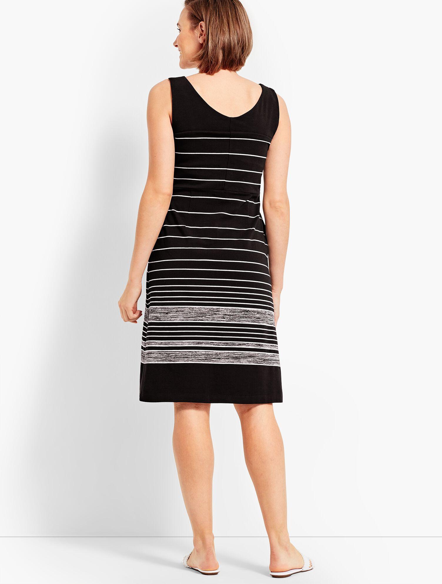 Double V Neck Dress