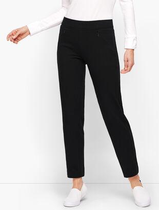 Side Panel Straight Leg Yoga Pants