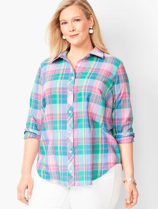 479d4c65c86 Classic Cotton Shirt - Madras Plaid