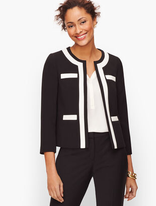 Stretch Crepe Lady Jacket