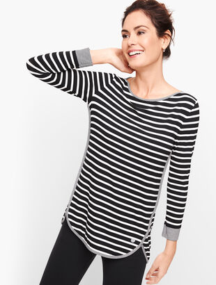 UPF 50+ Stripe Top