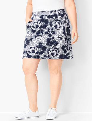 Everyday Yoga Skort - Dotted Floral