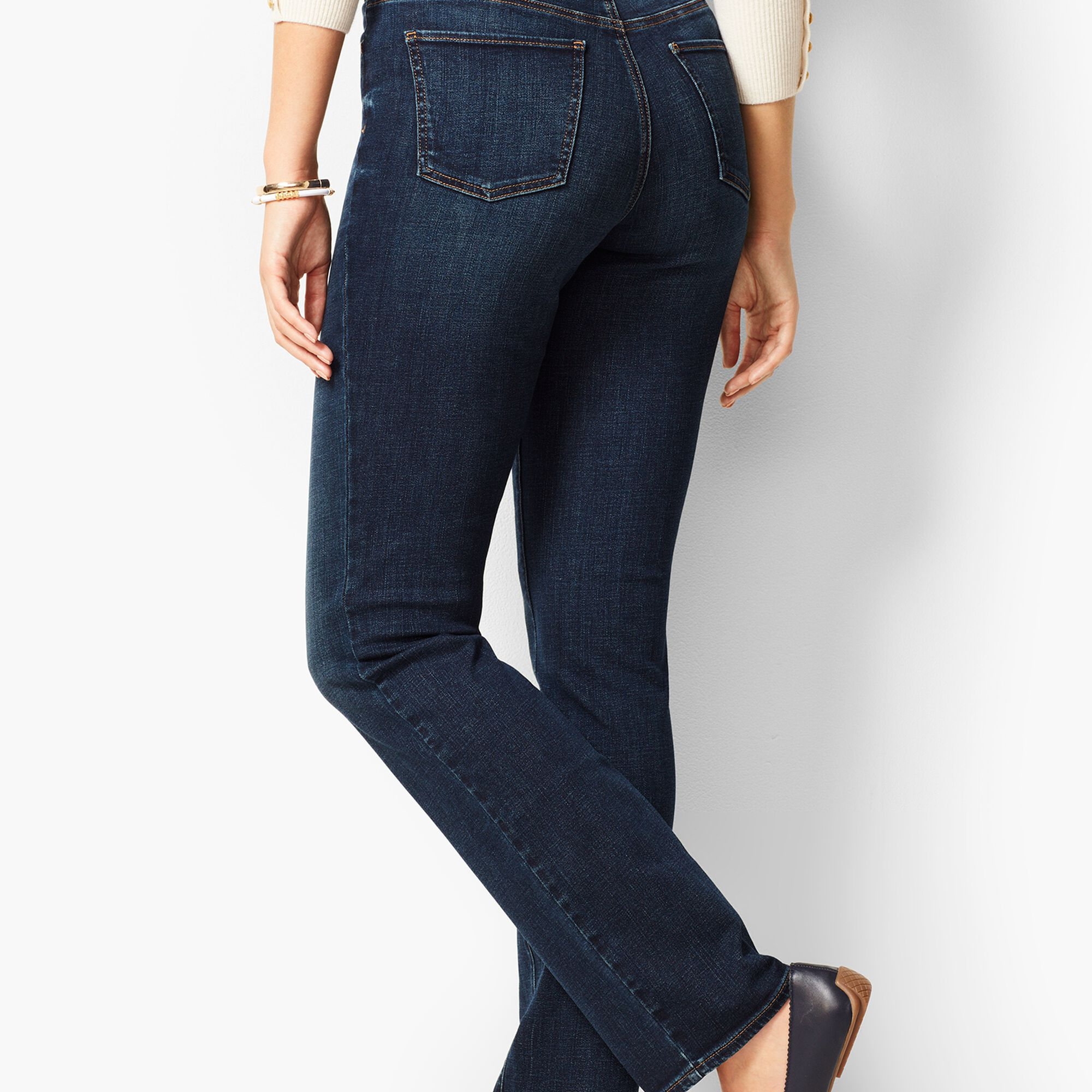 bb358afde5b High-Waist Barely Boot Jeans - Pioneer Wash - Curvy Fit