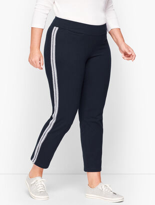 Side Stripe Yoga Pants