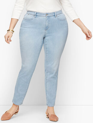 Plus Size Exclusive Slim Ankle Jeans - Skillman Wash