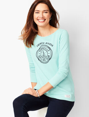 Authentic Talbots Tee - Sailing Club