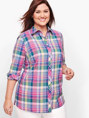 Classic Cotton Shirt - Madras