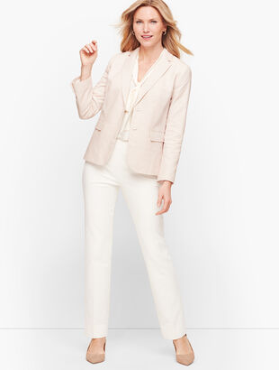 Biscay Fresh Stripe Two-Button Blazer