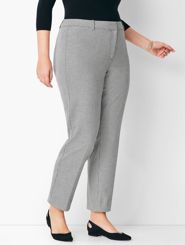 1be888dbf4 Images. Plus Size High-Waist Tailored Ankle Pants ...