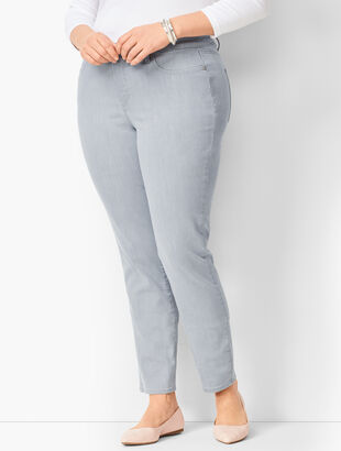 Slim Ankle Jeans - Zenith Wash