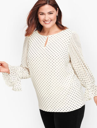 Plus Size Blouses and Shirts | Talbots