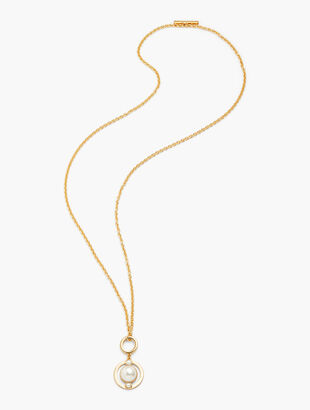 Convertible Pearl Pendant