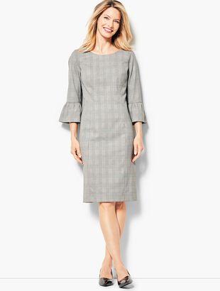 Glen Plaid Sheath Dress