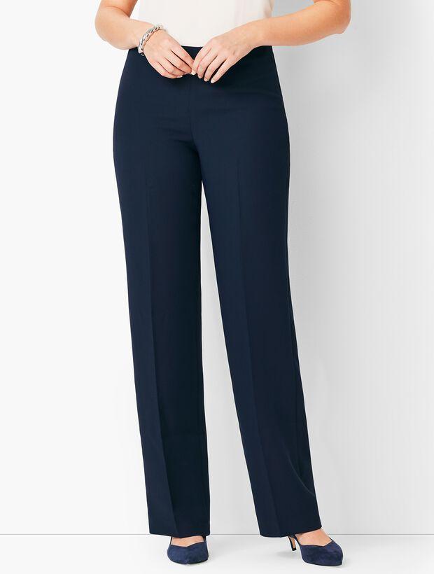 Talbots Seasonless Crepe Wide-Leg - Curvy Fit