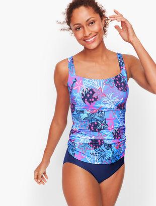 Miraclesuit® Cabana Tankini Top - Aquatic Life