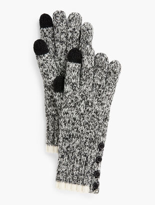 Marled Winter Touch Gloves