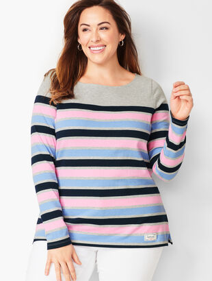 Stripe Authentic Talbots Tee