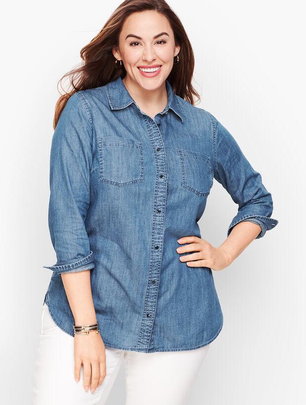 Classic Cotton Shirt - Denim