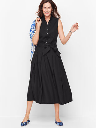Full Poplin Skirt